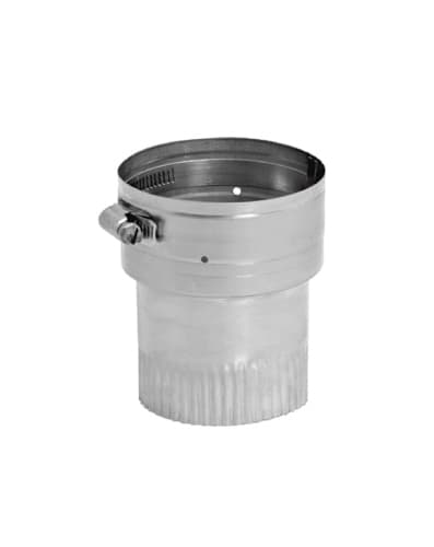 DuraVent 10VG-S Stainless Steel Flexible Liner 10 Inner Diameter - Ventinox Flexible Liner Chimney Relining - Single Wall - 4.5 Sleeve