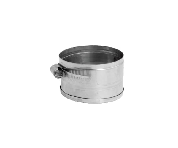 DuraVent 12VFT-TCV Stainless Steel Flexible Liner 12 Inner Diameter - Ventinox Flexible Liner Chimney Relining - Single Wall - 2 Tee Cover