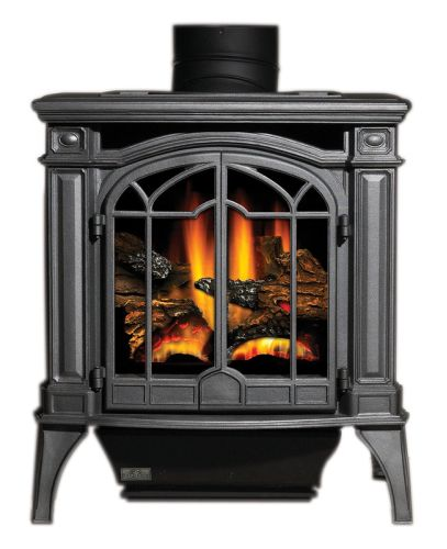 uniflame gad1321sp liquid propane gas large outdoor fireplace