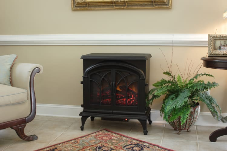 Fire Sense 60354 1350 Electric Fireplace Stove