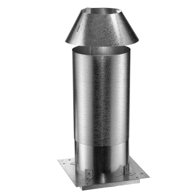 Duravent 0355 Aluminum Attic Insulation Shield 5 Quot 6