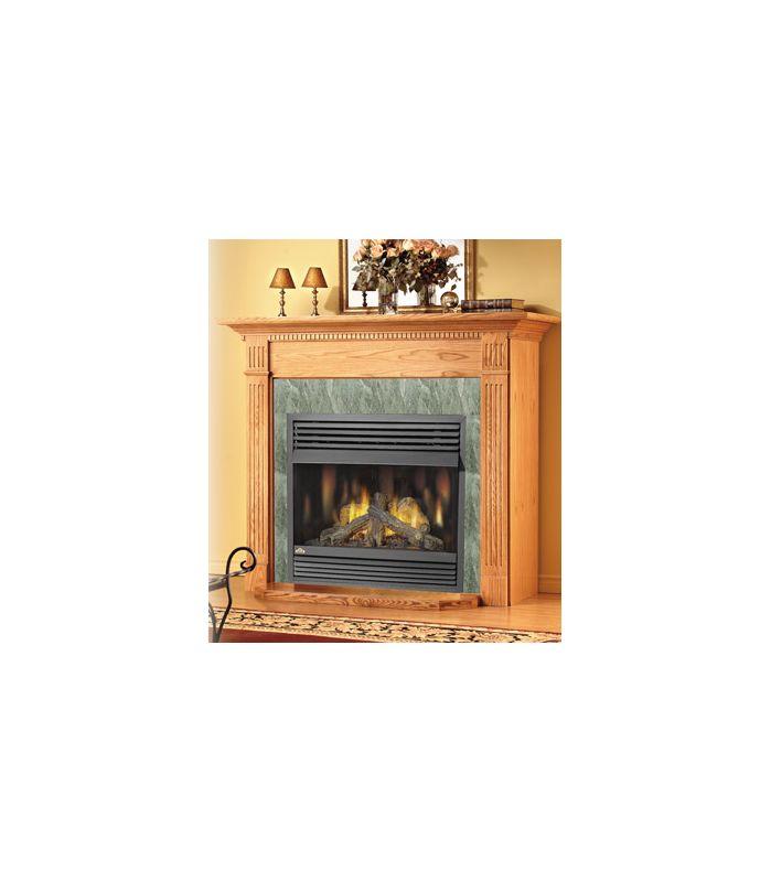 Napoleon Gvf36n Natural Gas Gas Napoleon Gvf36 30000 Btu Vent Free Zero Clearance Gas Fireplace