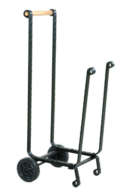 Uniflame W-1151 Black Wrought Iron Log Rack