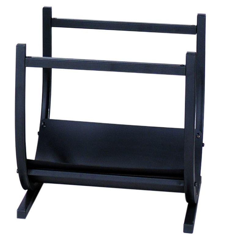 Uniflame W-1185 Black Wrought Iron Log Rack