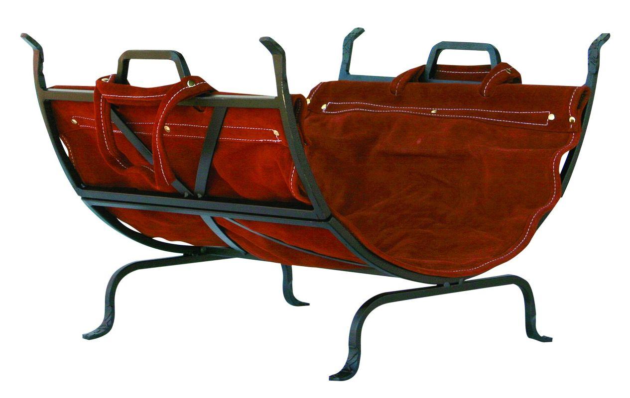 Uniflame W-1189 Olde World Iron Log Holder