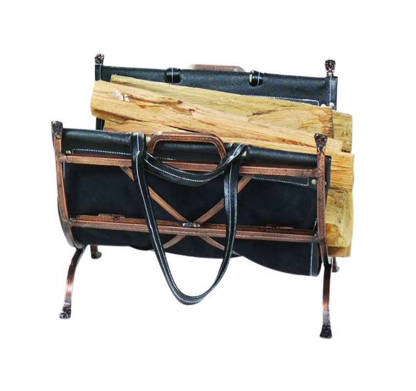 Uniflame W-1315 Antique Copper Log Rack /