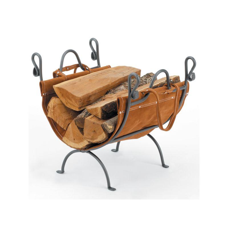 Woodfield 61274 Vintage Iron Log Rack /