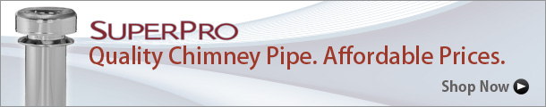 SuperPro Chimney Pipe by Selkirk!